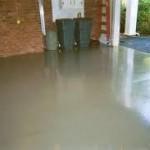 Two part garage floor expoxy system