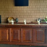 Exterior Patio Bar treated with Sikkens 123